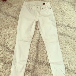 Seven for all mankind white jeans